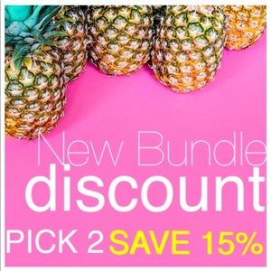 BUNDLE 2 OR MORE ITEMS & SAVE 15%!!!